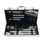 19 Piece Heavy Duty BBQ Set with Case by Chef Buddy