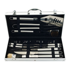 Chef Buddy - 19 Piece Heavy Duty BBQ Set with Case by Chef Buddy - Grill Tools & Accessories