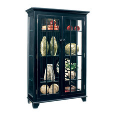 Philip Reinisch Company Color Time Monterey Wood Display Cabinet China Cabinets