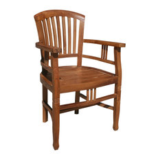 Teak Orleans Arm Chair