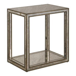 Uttermost Julie Mirrored End Table