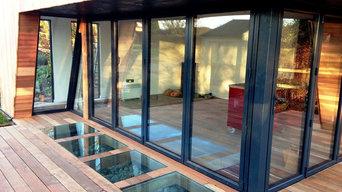 Waterside luxury garden suite