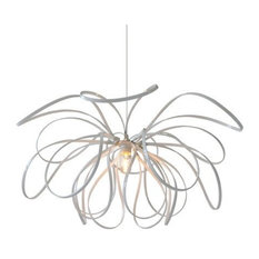 7Gods Lighting - Sarita Pendant Lamp, White - Pendant Lighting