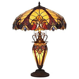 Victorian Table Lamps by CHLOE Lighting, Inc.