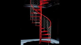 イタリアモビローロ社 らせん階段