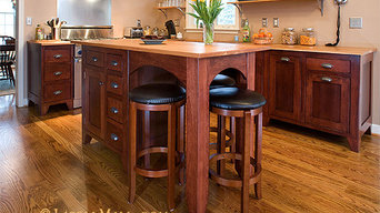 Vintage Unfitted Cherry Kitchen