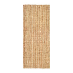 Safavieh Natural Fiber Collection NF447 Rug, Natural, 2' X 6'