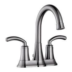 Two Handle 4-Inch Center Set Lavatory Faucet, Pop-Up Drain
