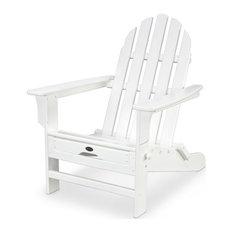 Trex Outdoor Furniture Cape Cod Ultimate Adirondack, Classic White