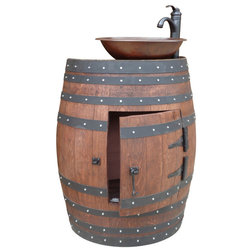 Rustic Bathroom Vanities And Sink Consoles by Wood Art World