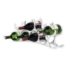 9 Bottles Wine Rack, Eichholtz
