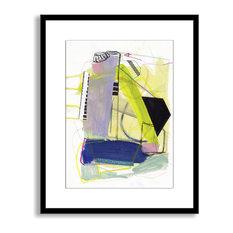 Jaime Derringer's 'Reconstruction' Framed Paper Art, 32x40
