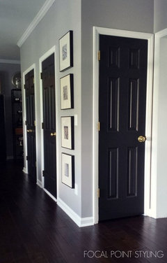 I Ve Also See Black Trim And White Doors For A Cool Look