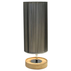 Toledo Table Lamp, Silver