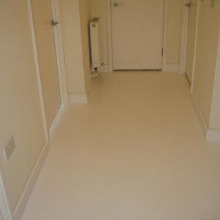 Poured Epoxy Floor Houzz - Poured acrylic floor