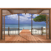 Brewster Home Fashions  El Paradiso Wall Mural - 106 in.