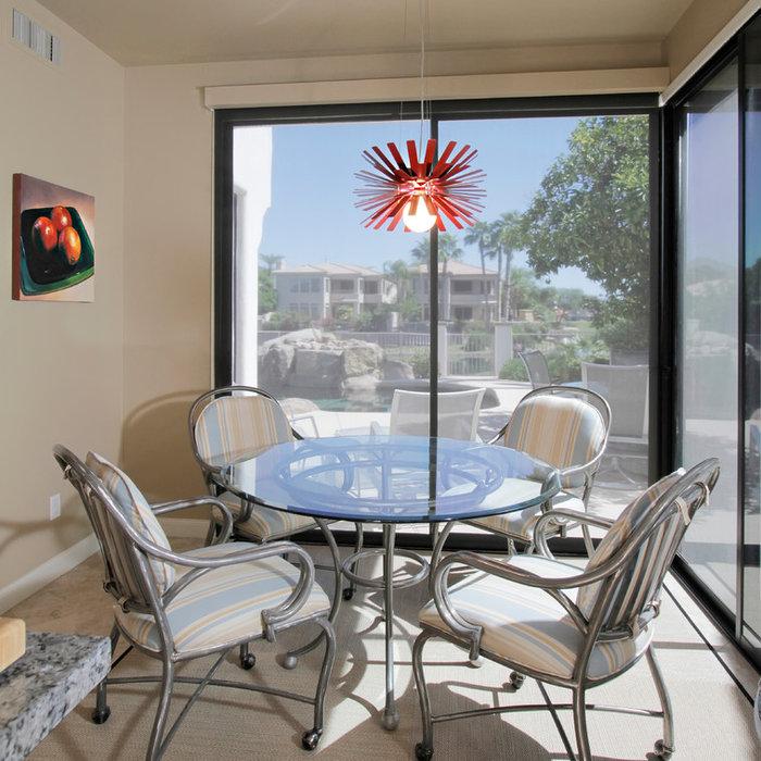 Eclectic Condo Design - 2012 ASID 1st Place- Design Under 3,500 sqft.- Contemporary Condo Design