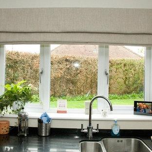 Home design - shabby-chic style home design idea in Surrey