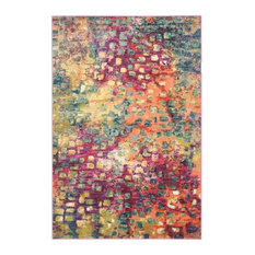 Safavieh Morgan Pink and Multicolored Woven Rug, 9'x12'
