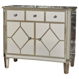 Transitional Accent Chests And Cabinets by GDFStudio