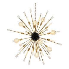 Eichholtz Tivoli Round Chandelier, Brass, Large