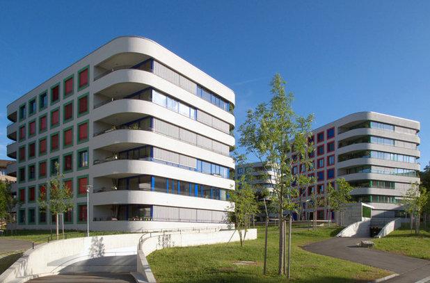 High Rise Apartment Design Exterior