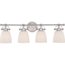 Superb Transitional Bathroom Vanity Lighting Benjamin Light Vanity Brushed Nickel