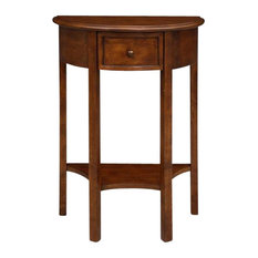 Leick Home   Leick Furniture Demilune Hall Stand   Console Tables