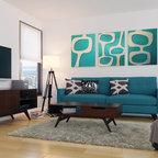 New York Mid Century Modern Apartment 3 - Midcentury - San Diego ...