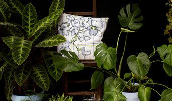 Laurifolia Floral Print Cushion