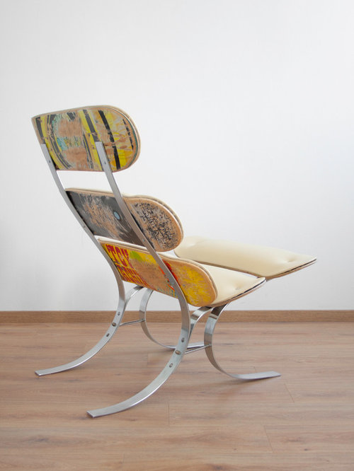 Upcycling Skateswing - Skateboard Lounge Chair - Products