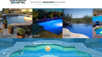 BD Pools and Spas Designs