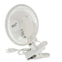 Comfort Zone CZ6C 6-Inch 2-Speed Clip-On Fan, White