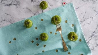 Torchon Mint Poir Or - SS17
