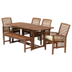 Stunning Craftsman Outdoor Dining Sets by Walker Edison