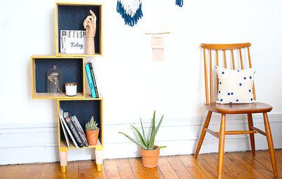 DIY : Fabriquez un meuble de rangement tendance avec des caisses à vin