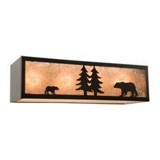 steel partners inc nature vanity 24 bear 4 light