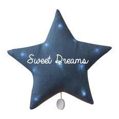 Sweet Dreams Blue Star Musical Night Light