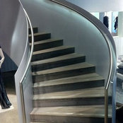 Concrete stairs in London's photo