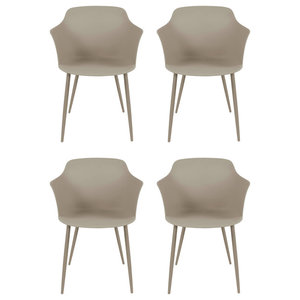 Chester Dining Chairs, Beige, Set of 4
