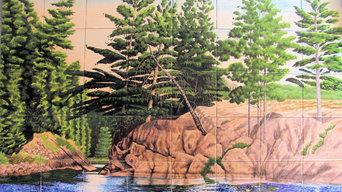 Canadian Wilderness Mural