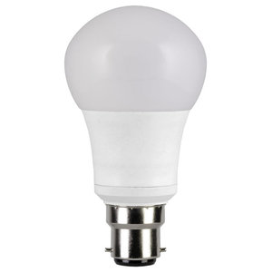 TCP LED GLS BC Light Bulb, 2-Tone, 7W