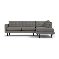Apt2B   Logan 2 Piece Sectional Sofa, Taupe, Chaise On Right   Sectional