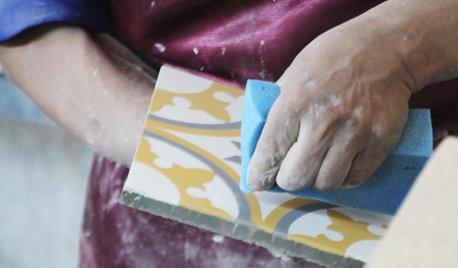 Focus matière : Histoire et fabrication des carreaux de ciment