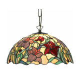 Beautiful hanging light Athina, Tiffany-style