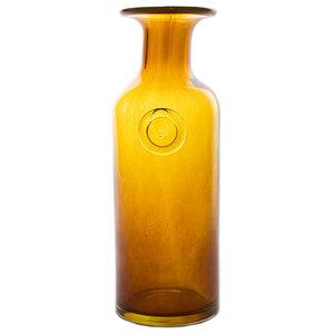 Retro Glass Carafe, Honey