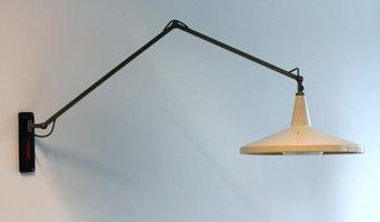 Gispen Panama Giso 4050 Lampe, W. Rietveld