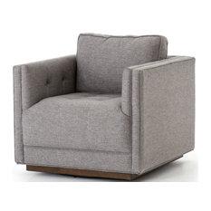 Kayden Swivel Chair, Opal Grey