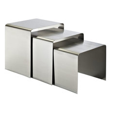 Wayland Nesting Tables Silver