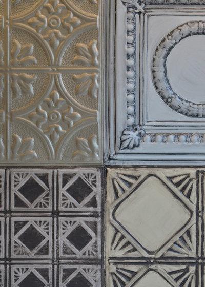 Stickybeak Of The Week Tin Tiles Transform A Bachelor S